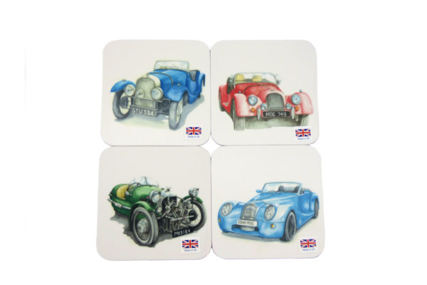 Morgan Coasters - Michelle Butler Art Set of 4-0