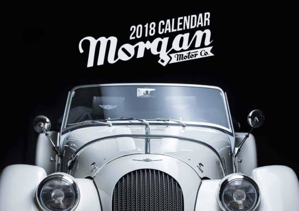 2018 Morgan Motor Company Official Calendar -0