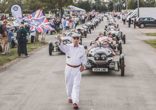 2018 Morgan Motor Company Official Calendar -3601