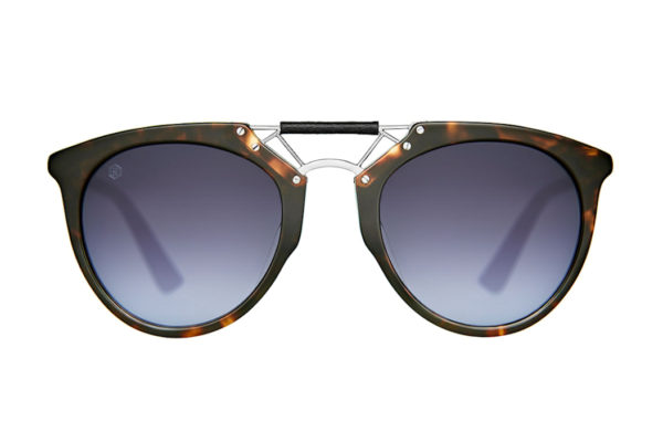 "Taylor Morris Morgan ""Walnut"" Designer Sunglasses-0"