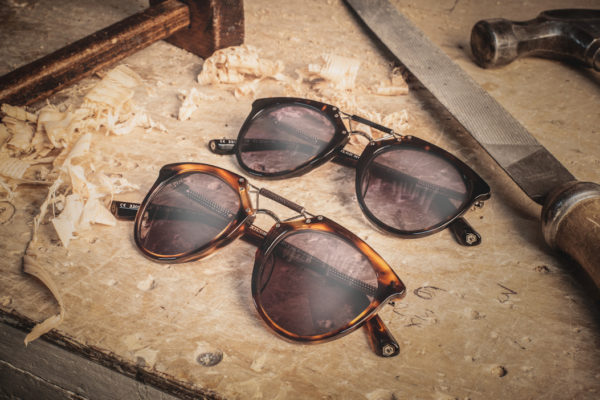 "Taylor Morris Morgan ""Walnut"" Designer Sunglasses-3140"