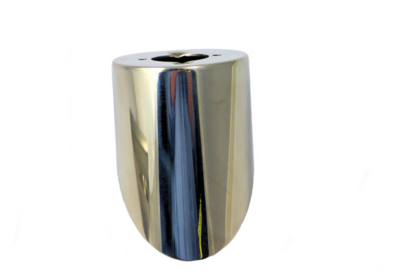 Stainless Steel - Round Tail Light Plinth - 2010 Onwards Models -3253