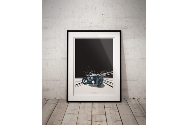 Morgan 3 Wheeler EV3 Poster-3327