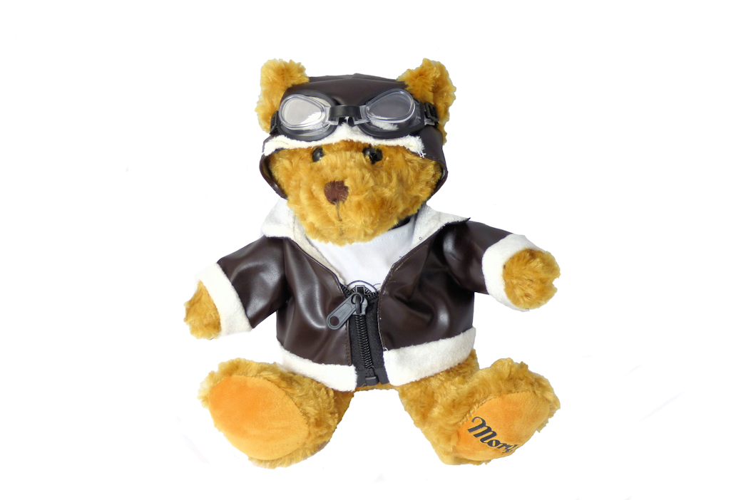 Morgan Teddy Bear + Flying Jacket-0
