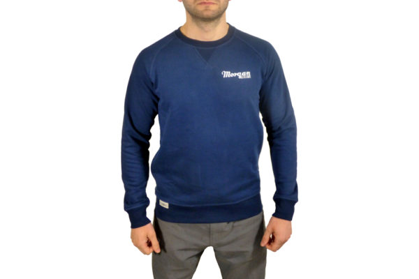 Mens Adult Sweatshirt - Navy Blue-0