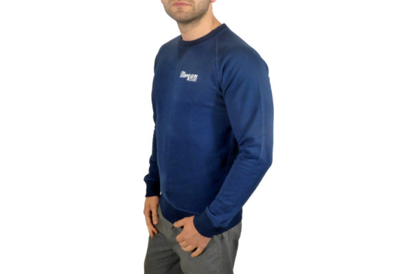 Mens Adult Sweatshirt - Navy Blue-3400