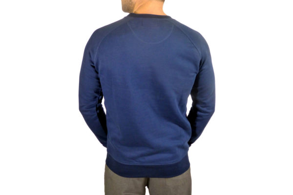 Mens Adult Sweatshirt - Navy Blue-3398