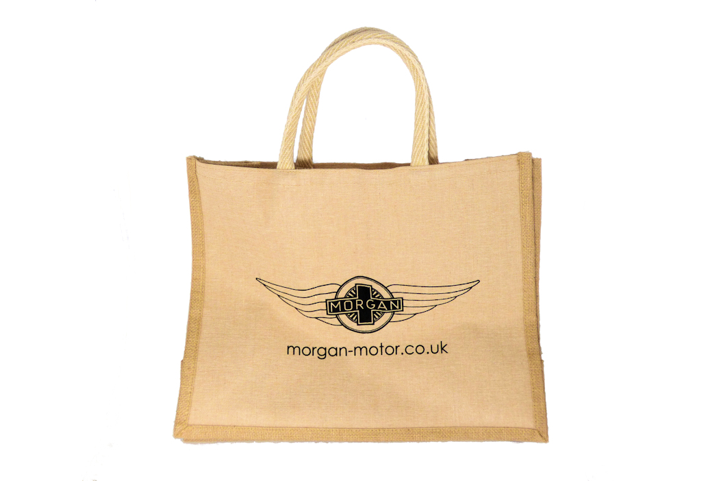 Morgan Hessian Shopping Bag-0