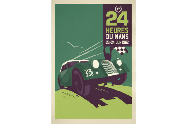Large Metal Sign - Le Mans-0
