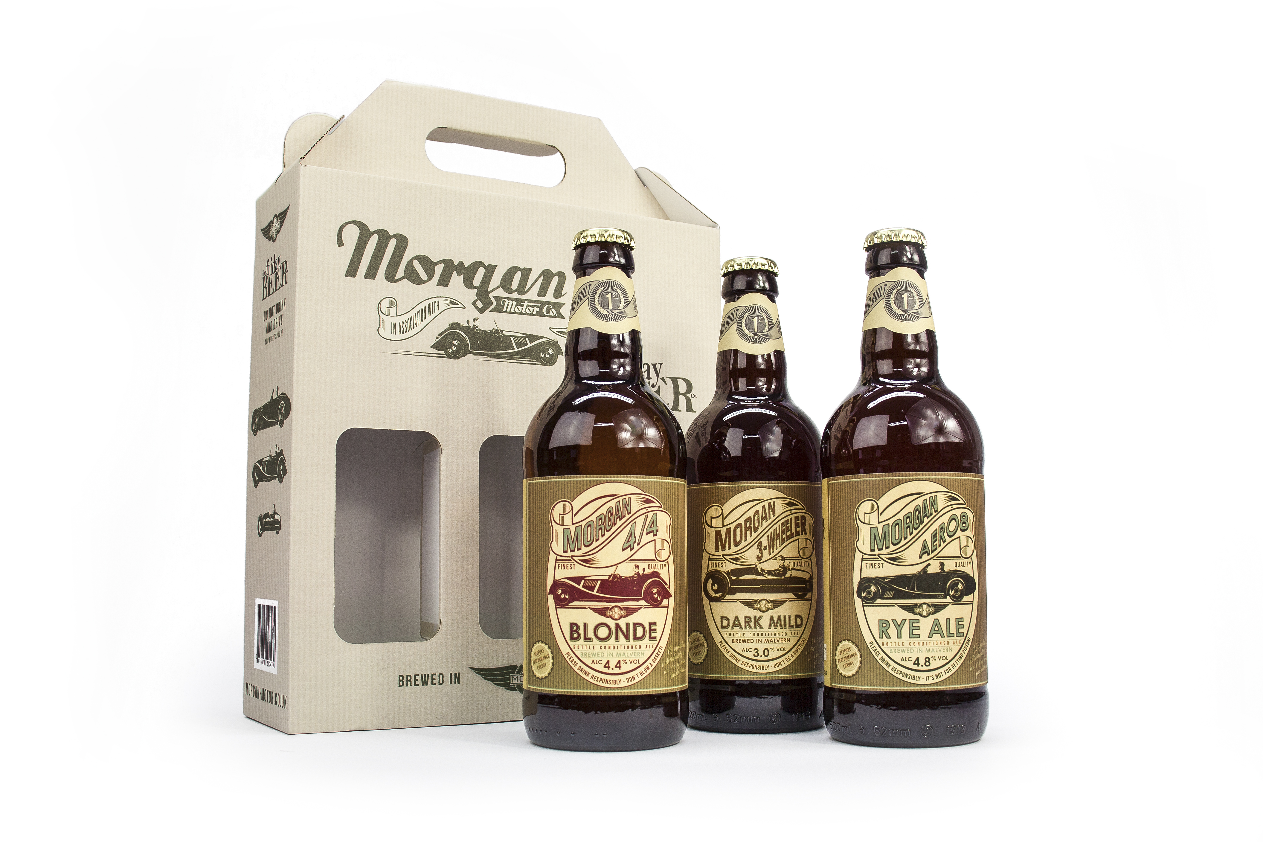 Morgan Motor Company And Friday Beer Introduce The Latest