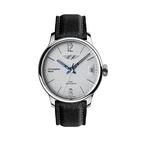 C1 Morgan Classic Chronometer Black/Blue Piccari Leather-0