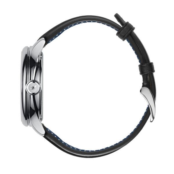 C1 Morgan Classic Chronometer Black/Blue Piccari Leather-3692