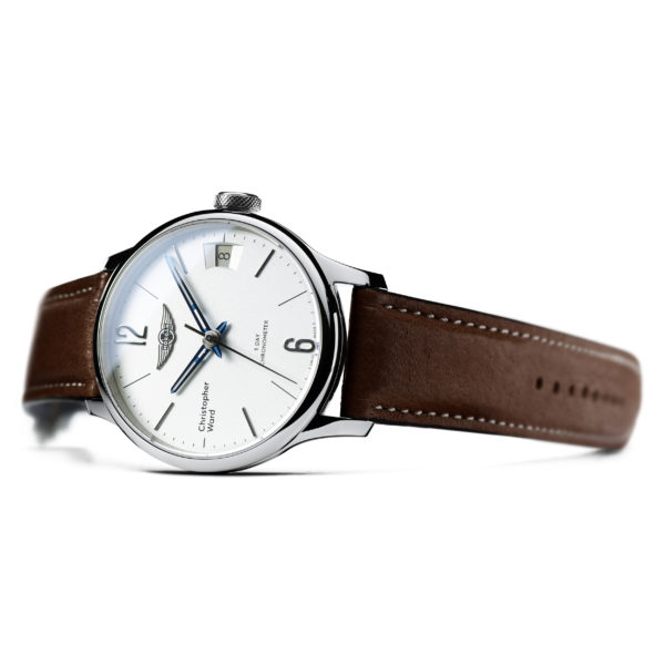 C1 Morgan Classic Chronometer Brown/Blue Piccari Leather-3683