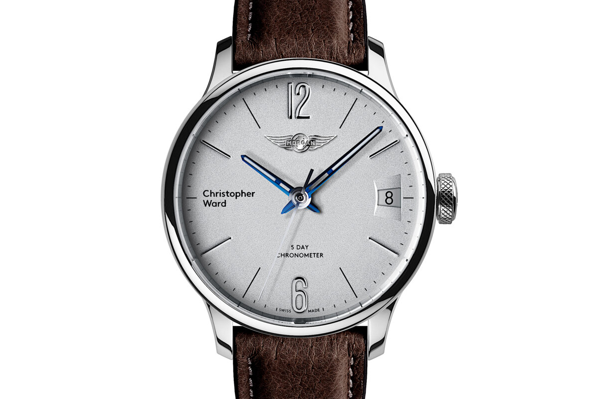 C1 Morgan Classic Chronometer Brown/Blue Piccari Leather-0