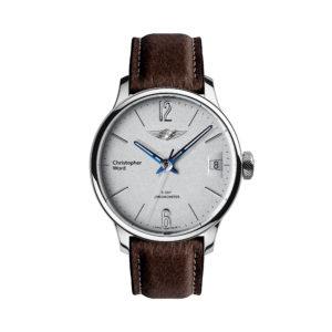 C1 Morgan Classic Chronometer Brown/Blue Piccari Leather-0