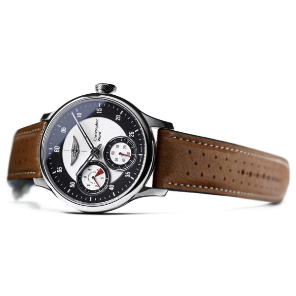 C1 Morgan Aero 8 Chronometer Camel/Red Piccari Leather-3724