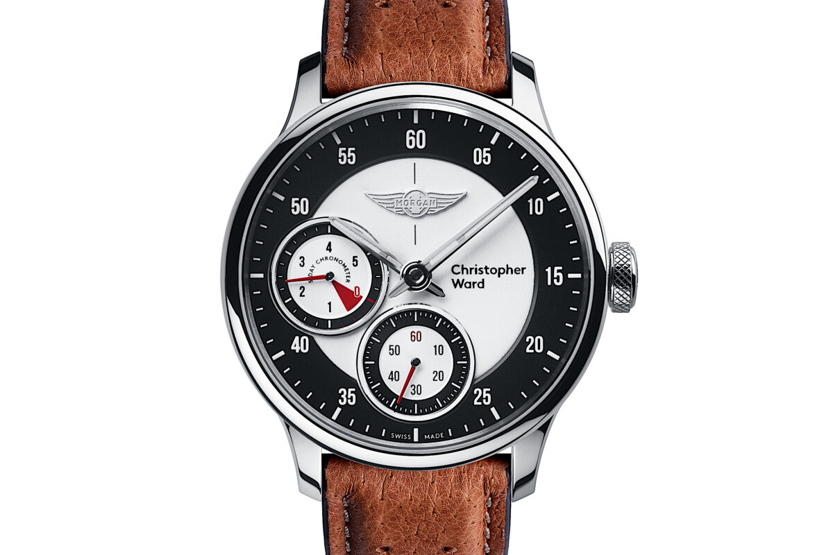 C1 Morgan Aero 8 Chronometer Camel/Red Piccari Leather-0