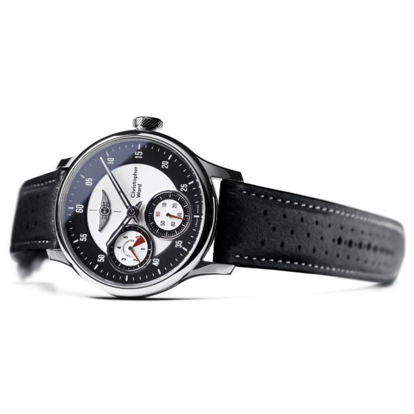 C1 Morgan Aero 8 Chronometer Black/Red Piccari Leather-3741