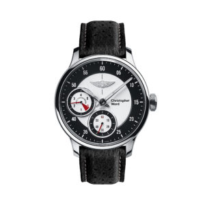 C1 Morgan Aero 8 Chronometer Black/Red Piccari Leather-0