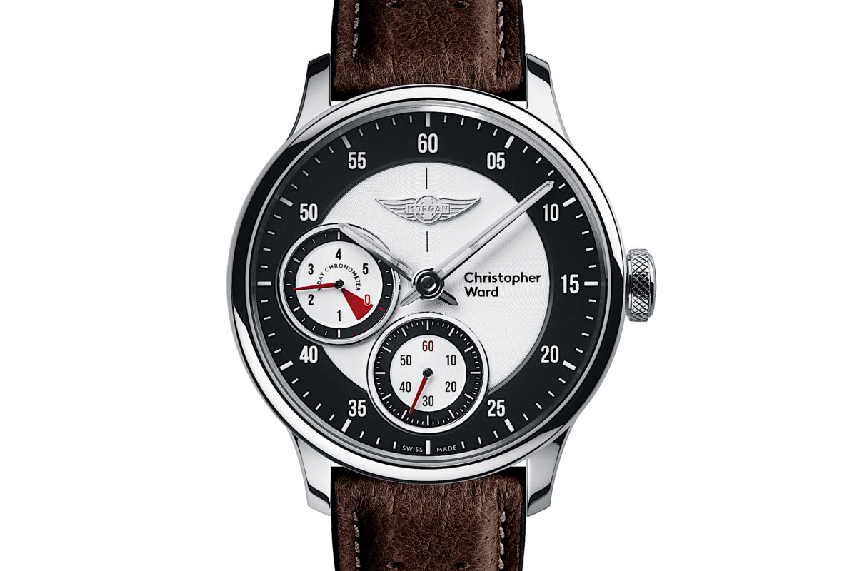 C1 Morgan Aero 8 Chronometer Brown/Red Piccari Leather-0