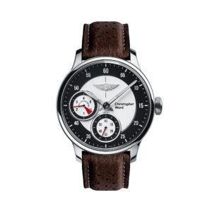 C1 Morgan Aero 8 Chronometer Brown/Red Piccari Leather-0