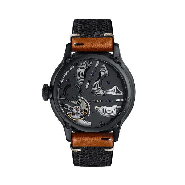 C1 Morgan 3 Wheeler Chronometer Camel Tiber Leather-3699