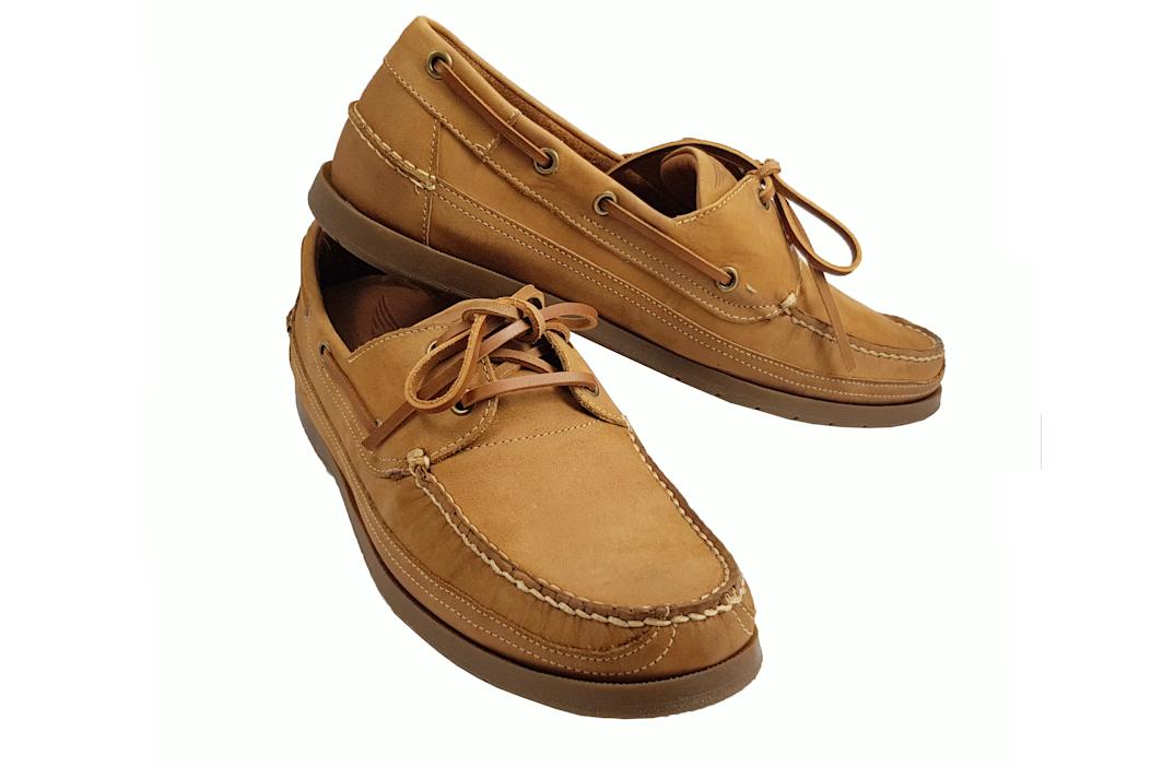 Morgan Vintage Touring Shoe - Tan-0