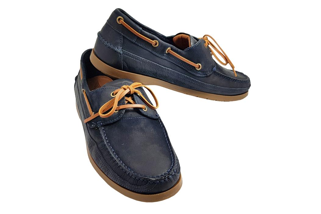 Morgan Vintage Touring Shoe - Navy-0