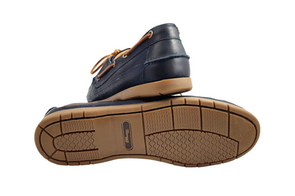 Morgan Vintage Touring Shoe - Navy-3659