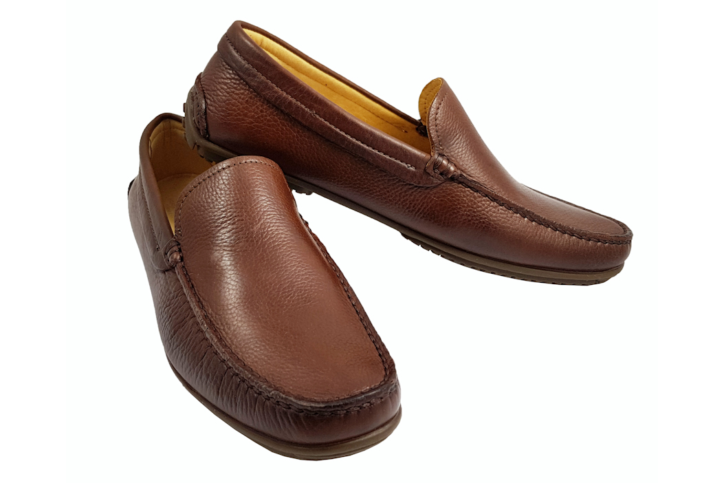 Morgan Sporting Driving Shoe - Brown-0