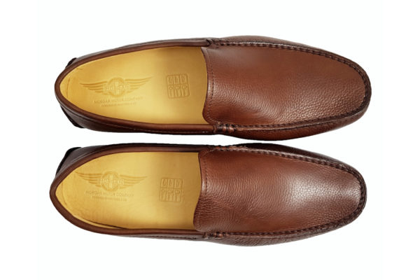 Morgan Sporting Driving Shoe - Brown-3671