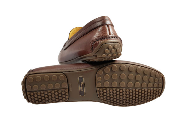 Morgan Sporting Driving Shoe - Brown-3673