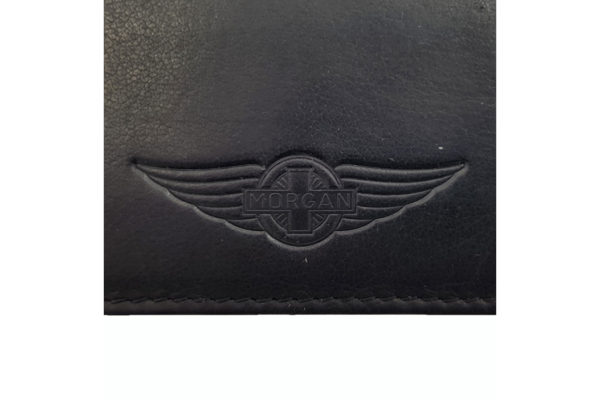 Morgan Leather Credit Card Holder - Black-3781