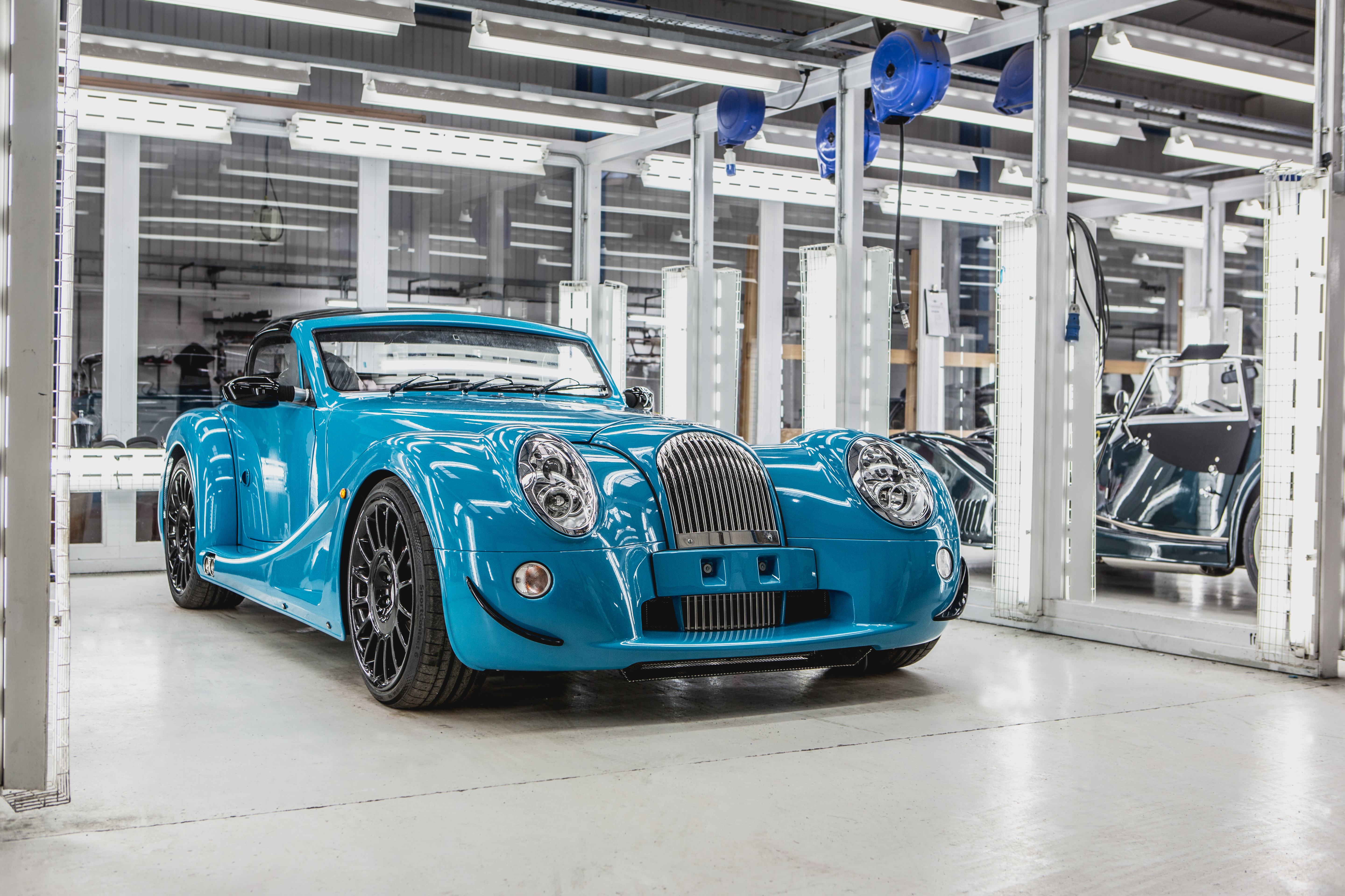 First Morgan Aero GT rolls off Morgan's Pickersleigh Road production ...