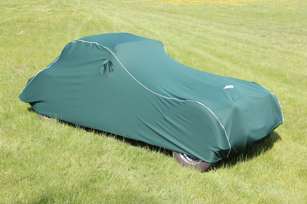 Morgan Indoor Car Cover - Green-0
