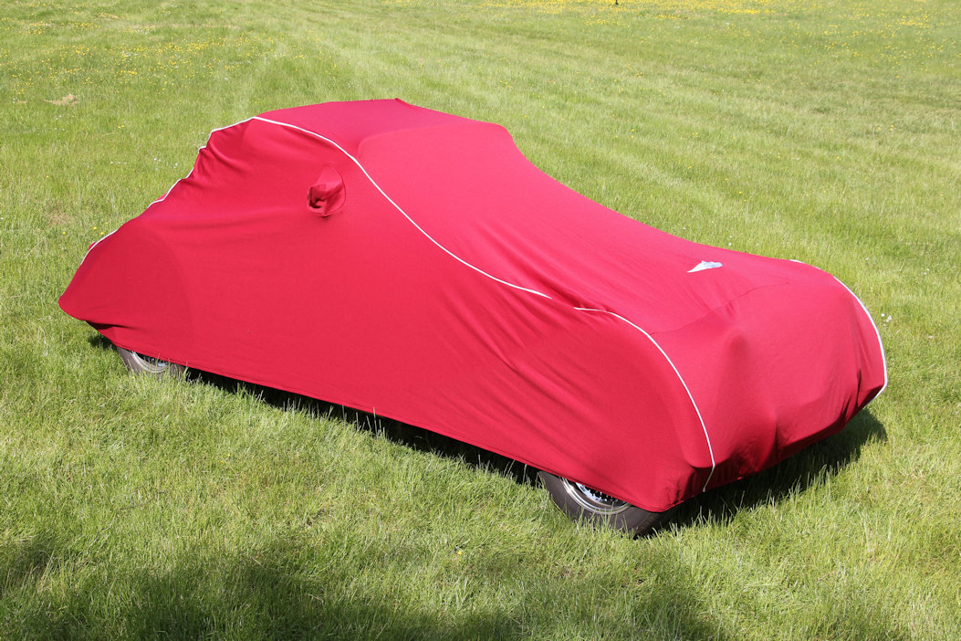 Morgan Indoor Car Cover - Burgundy-0
