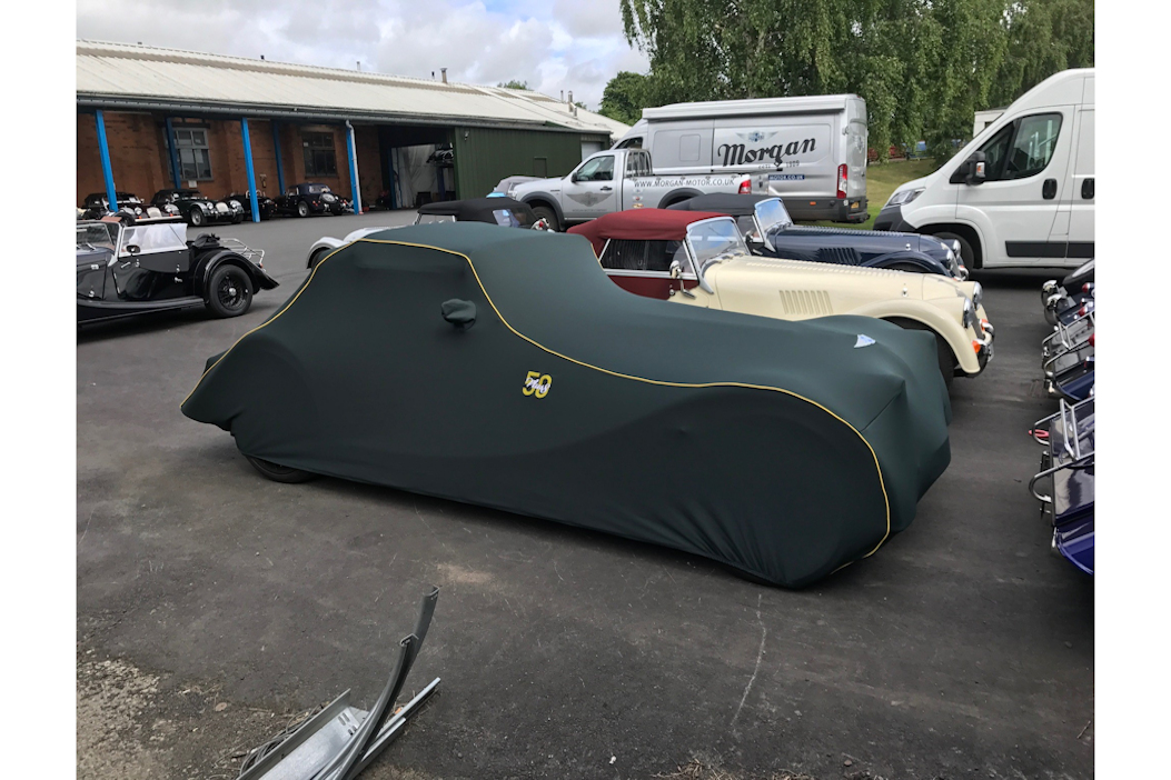 Morgan Indoor Car Cover - +8 50th Anniversary Green-0
