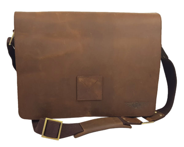 Morgan Messenger Bag - Brown-0