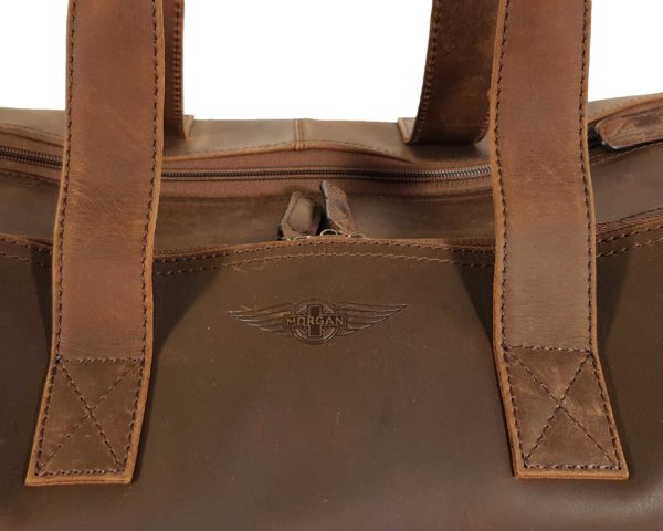 Morgan Weekend Wheelie Travel Case - Brown-3862