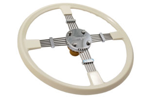 Brooklands Steering Wheel (M3W) - Cream-0