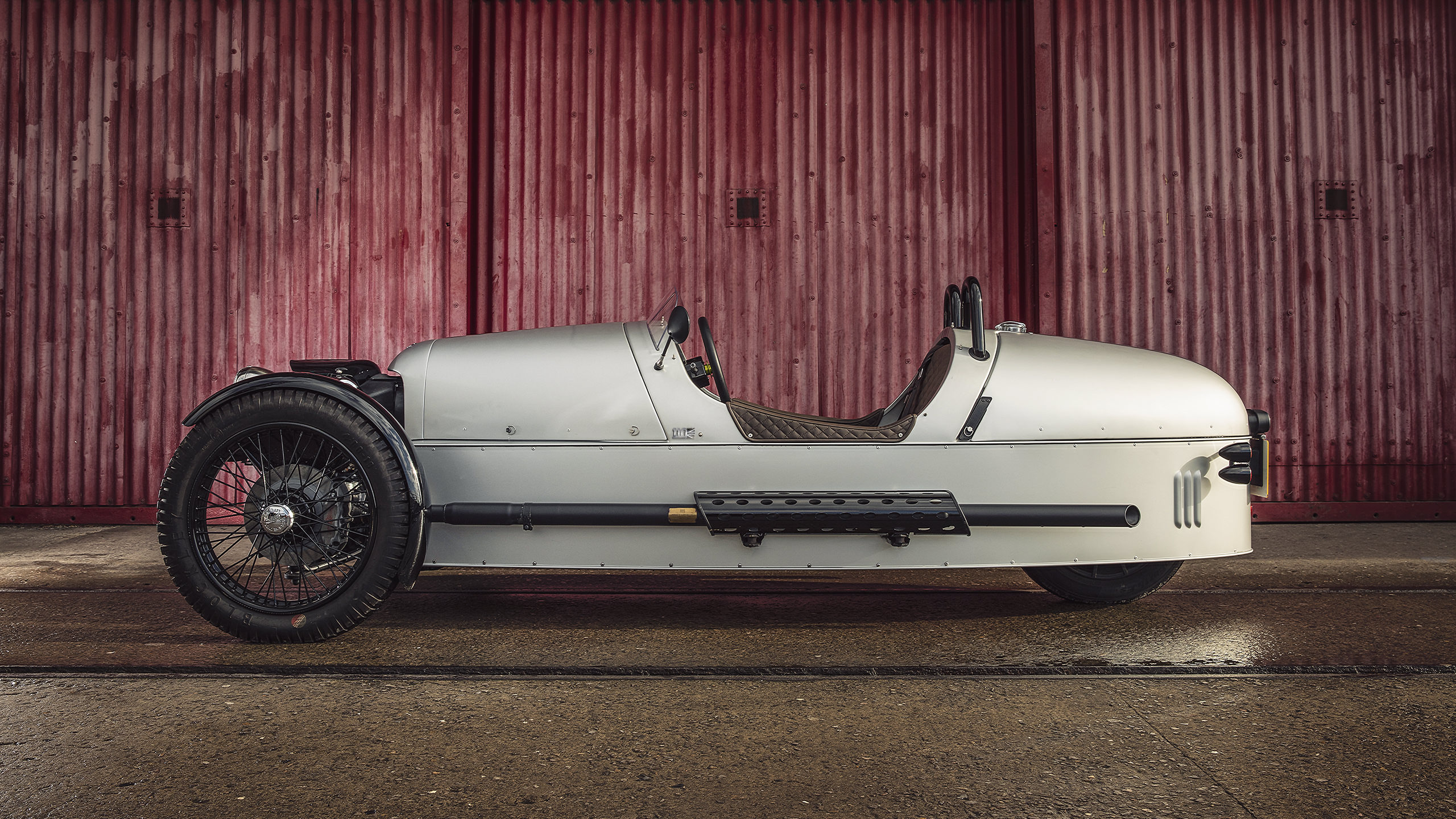The Morgan 3 Wheeler There Are 2 Diagrams For This Vehicle Since It Has Options New Paint