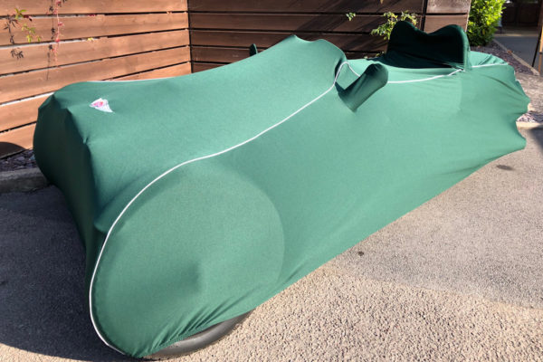 Car Cover 3-Wheeler (Indoor) - Green-0