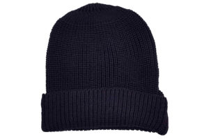 Potter Ribbed Beanie - Navy-0