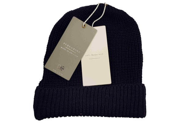 Potter Ribbed Beanie - Navy-4013