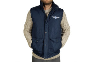 Men`s Quilted Body Warmer-0