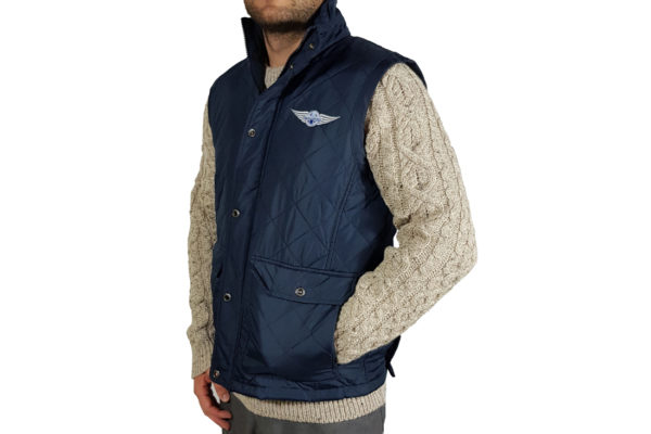 Men`s Quilted Body Warmer-4111