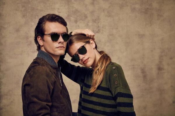 "Taylor Morris Morgan ""C4 Havana Frame "" A-GT Designer Sunglasses-4083"