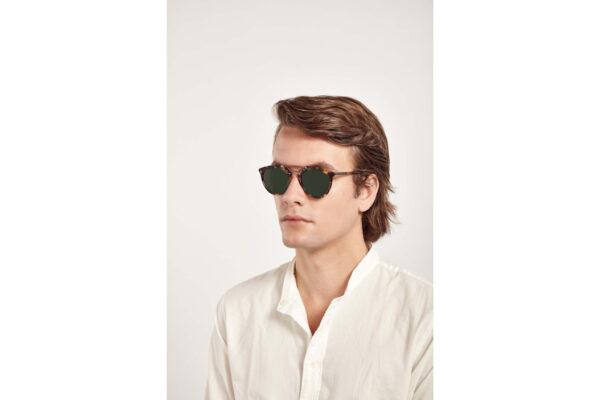 "Taylor Morris Morgan ""C2 Tawney Tortoise Shell"" A-GT Designer Sunglasses-4054"