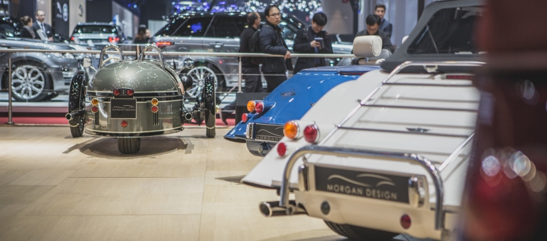 Morgan at the Geneva Motor Show 2016