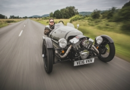 MotorPunk's Albert Ball Memorial Blat – A Morgan 3 Wheeler Road Trip